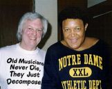 with Chubby Checker, Melbourne 1994