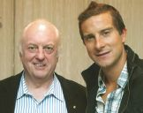 with Bear Grylls 2011