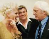 with Tony Curtis and wife, Melbourne 2000