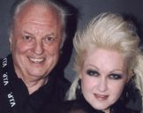 with Cyndi Lauper, Melbourne 2008