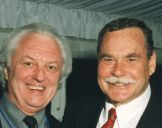 with Ron Barassi 1995