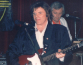 with Del Shannon, February 1989