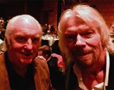 with Richard Branson 2018