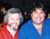 with Barry Stanton 1985