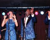 with the Platters 1989