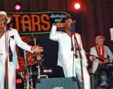with the Coasters 1987