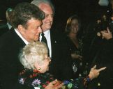 with Dr Ruth and Tony Curtis Chicago 1998