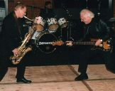 with Graham Broomfield, Saxman meets Bassman 2008