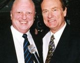 with Pete Smith, Nine Network, Richmond 2002