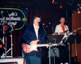with Del Shannon, Melbourne 1989
