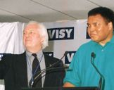 with Muhammad Ali, Dandenong 2000