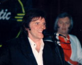 with Del Shannon February, 1989